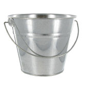 Galvanized Metal Bucket - 6""